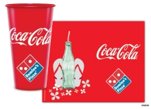 Coke_Dominos_Reusable_Clear_Cup