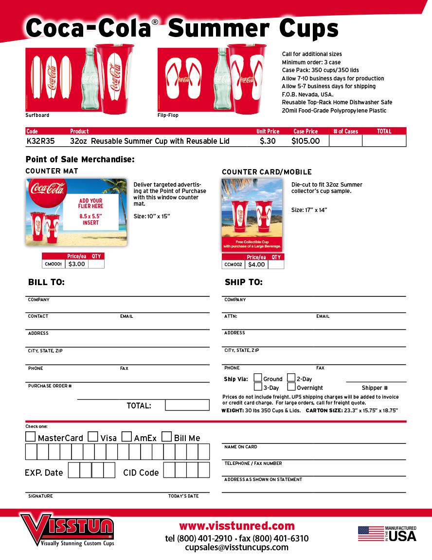 online order forms